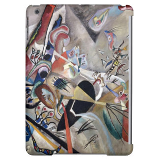 Kandinsky In Grey Abstract Artwork iPad Air Cover