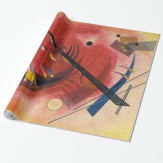 Kandinsky Inner Simmering Abstract Artwork Wrapping Paper