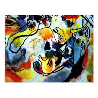 Kandinsky - Last Judgment Postcard