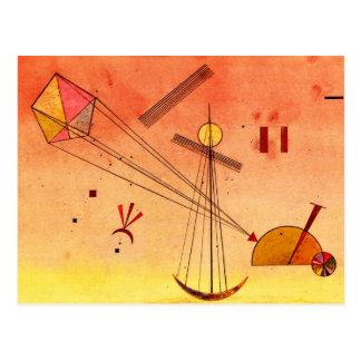Kandinsky - Light Attachment Postcard