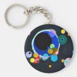 Kandinsky llavero de varios círculos