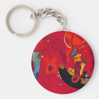 Kandinsky Mit und Gegen Keychain