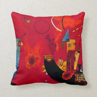 Kandinsky Mit und Gegen Throw Pillow