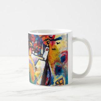 Kandinsky Moscow Cityscape Abstract Classic White Coffee Mug