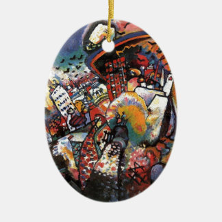 Kandinsky Moscow I Cityscape Abstract Painting Ceramic Ornament