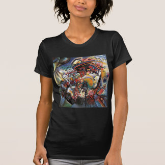 Kandinsky Moscow I Cityscape Abstract Painting T-Shirt
