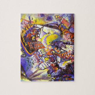 Kandinsky 'Moscow I' Puzzle