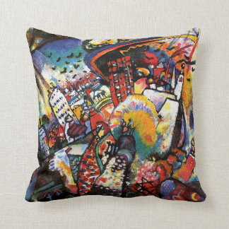 Kandinsky Moscow I Throw Pillow