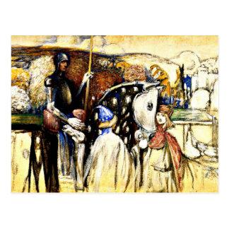 Kandinsky - Mounted Warrior Postcard