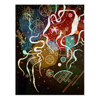 Kandinsky Movement I Postcard