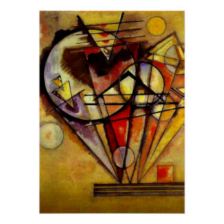 Kandinsky - On the Points Poster