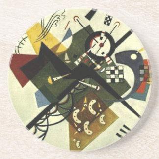 Kandinsky On White II Coaster
