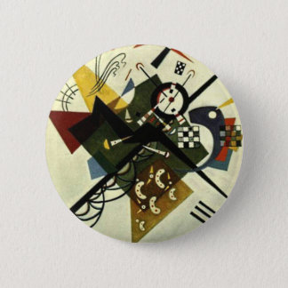 Kandinsky On White II Pinback Button