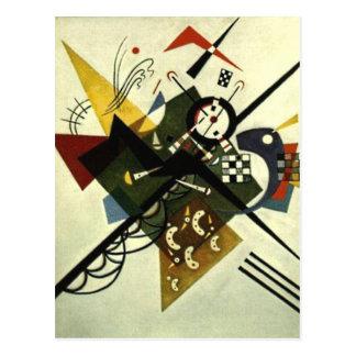 Kandinsky On White II Postcard