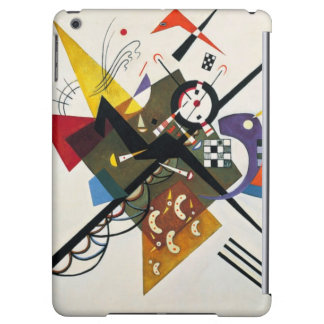 Kandinsky On White Two Abstract Painting Cover For iPad Air