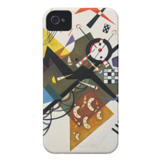 Kandinsky On White Two Abstract Painting iPhone 4 Cover