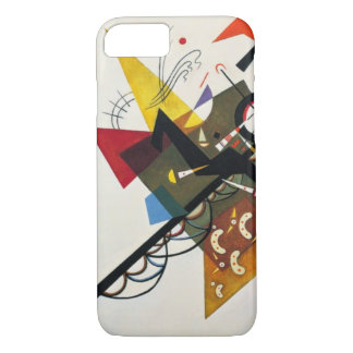 Kandinsky On White Two Abstract Painting iPhone 7 Case