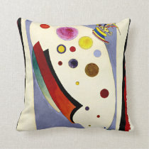 Kandinsky - Ovale Anime Throw Pillow