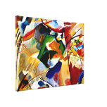 Kandinsky - Painting with Green Center Canvas Prints