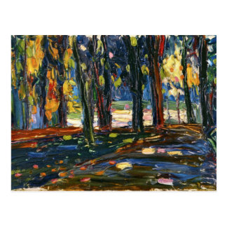 Kandinsky - Park of St. Cloud, Autumn II Postcard