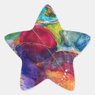 Kandinsky Pegatina En Forma De Estrella