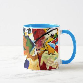 Kandinsky - pintura con el centro verde
