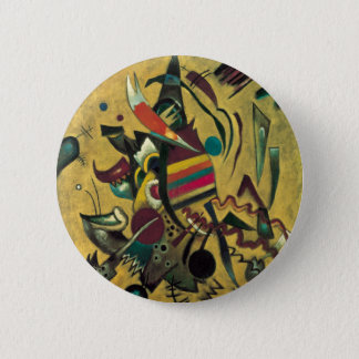 Kandinsky Points Abstract Canvas Painting Button