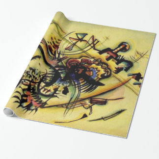 Kandinsky Points Abstract Canvas Painting Wrapping Paper