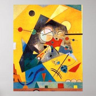 Kandinsky Quiet Harmony Abstract Art
