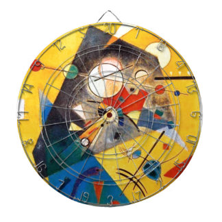 Kandinsky Quiet Harmony Abstract Art Dartboards