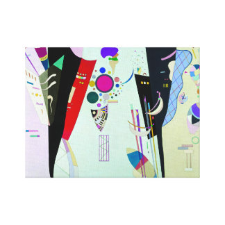 Kandinsky Reciprocal Accords Canvas Print