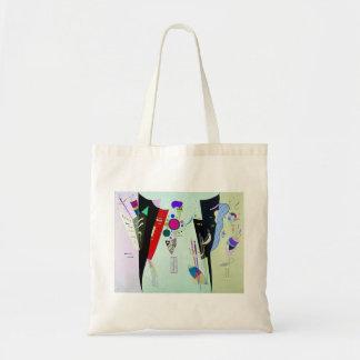 Kandinsky Reciprocal Accords Tote Bag