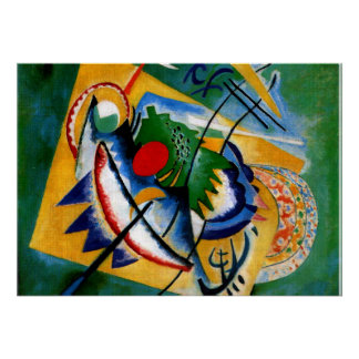 Kandinsky - Red Oval Poster