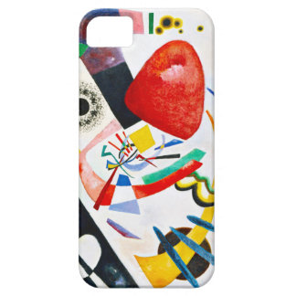 Kandinsky Red Spot iPhone 5 Cases