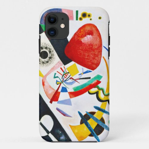 Kandinsky Red Spot Phone Case