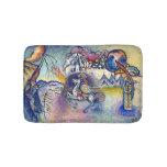 Kandinsky - Saint George and the Dragon Bath Mats