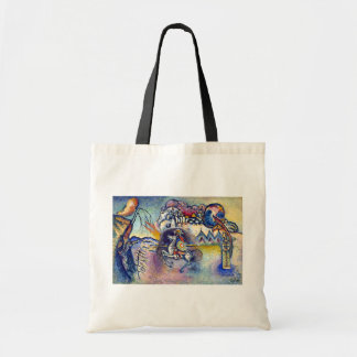 Kandinsky - Saint George and the Dragon Budget Tote Bag