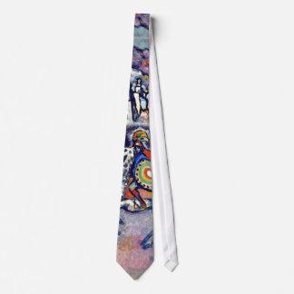 Kandinsky - Saint George and the Dragon Neck Tie