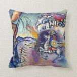 Kandinsky - Saint George and the Dragon Pillows