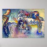 Kandinsky - Saint George and the Dragon Poster