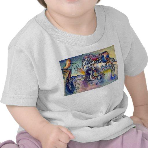 Kandinsky - San Jorge y el dragón Camiseta