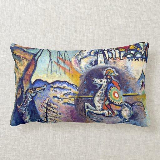 Kandinsky - San Jorge y el dragón Cojin