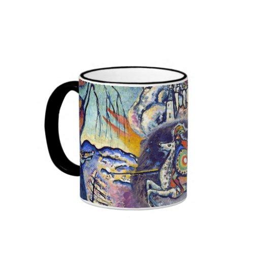 Kandinsky - San Jorge y el dragón Taza A Dos Colores
