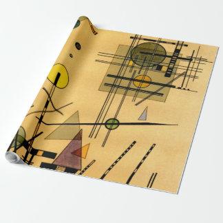 Kandinsky - secuencias papel de regalo