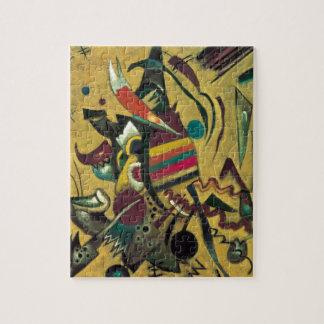 Kandinsky señala la pintura abstracta de la lona puzzle con fotos