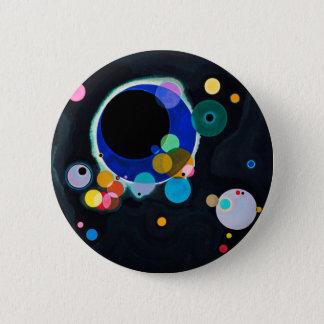 Kandinsky Several Circles Abstract Button