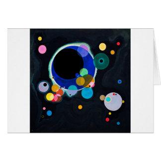 Kandinsky Several Circles Artwork Card