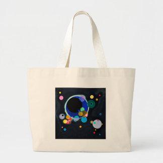 Kandinsky Several Circles Artwork Large Tote Bag