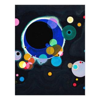 Kandinsky Several Circles Artwork Letterhead
