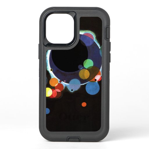 Kandinsky - Several Circles, famous abstract art OtterBox Defender iPhone 12 Pro Case